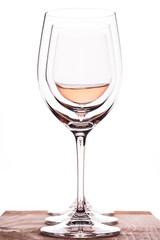 3 Weingläser mt Rosewein