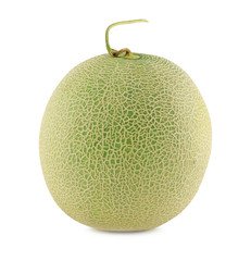 Cantaloupe melons isolated on a white background