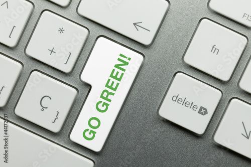 Go green! keyboard