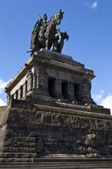 Monument to Kaiser Wilhelm I in Koblenz