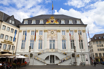 Historic Town Hall of Bonn in Germany