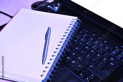 Notebook and agenda