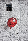 Fotoroleta red baloon 4