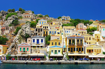 colors of Greece series, Symi island, Dodecanes