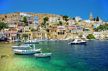 travel in Greek islands series - Symi, Dodecanes