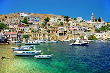 travel in Greek islands series - Symi, Dodecanes
