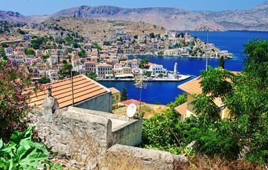 Symi island - travel in Greece series