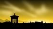 Silhouette - Edinburgh