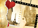 romantic letters -  from Paris with love