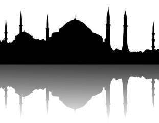 Silhouette - Hagia Sophia, Istanbul