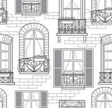 seamless windows pattern - 44178359