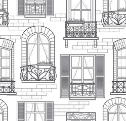 seamless windows pattern