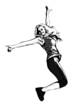 aerobics dancer