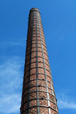 The old factory chimney in Altinoluk.