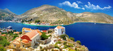 Fototapety travel in Greece series - beautiful Kastelorizo , dodecanes