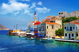 Fototapety pictorial greek islands - Kastelorizo