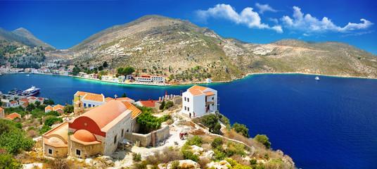 travel in Greece series - beautiful Kastelorizo , dodecanes