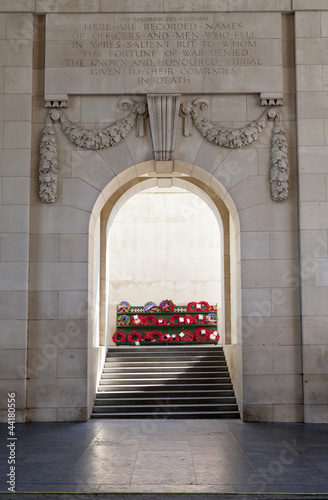 Inside the Menin Gate in Ypres