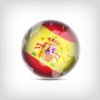 Spanien Globus