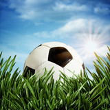 Abstract football or soccer backgrounds-