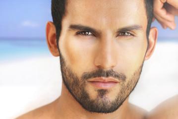 Sexy man face