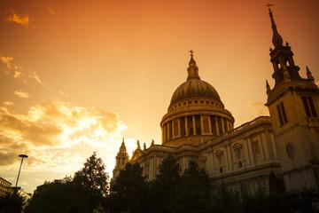 Sundown over Britain