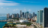 Aerial view of Downtown Miami - Fine Art prints