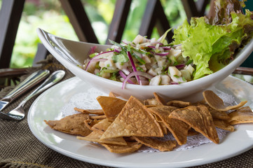 Plate of Ceviche