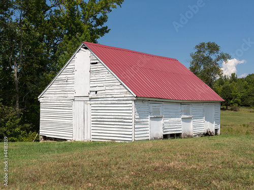 Barn at Thomas Stone house in Maryland
