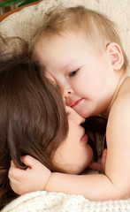 mummy and her kid