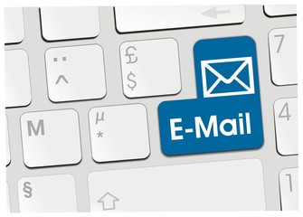 clavier e-mail