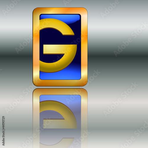 Goldplakette G