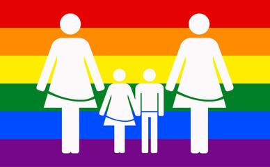 Lesbian family