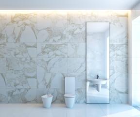 white WC