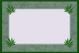 Marijuana Material Frame
