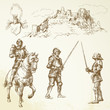 middle age knights