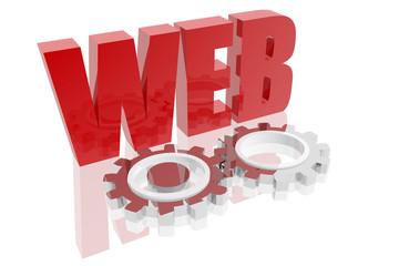 Icono de web en funcionamiento