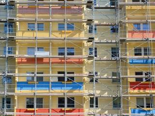 Sanierung von Plattenbauten in Ostdeutschland