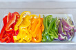 Sliced Bell Peppers - Horizontal