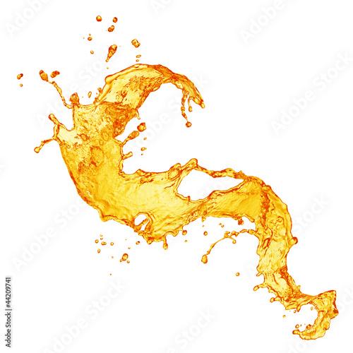 orange juice splash © Vitaly Korovin