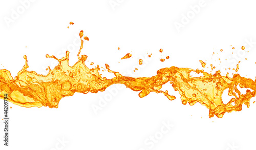 orange juice splash © Vitaly Korovin