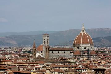 Vue générale de Florence, Toscane, Italie