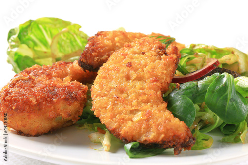 Crispy chicken tenders