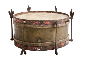 Old snare drum
