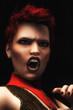 Digital Illustration of Female Vampire
