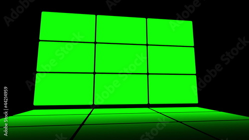 Green screen box design