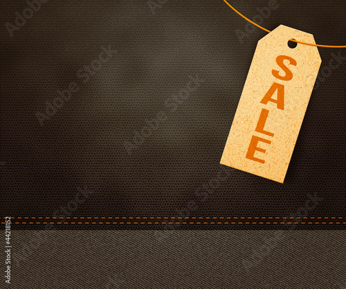 Sale Label Background