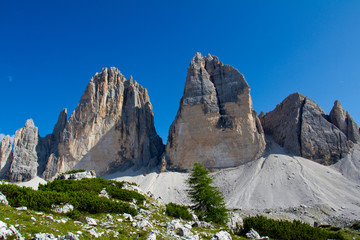 Dolomite Mountains, Unesco natural world heritage in Italy