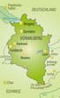 Umgebungskarte von Vorarlberg als Übersicht
