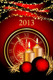 Vector 2013 New Year background